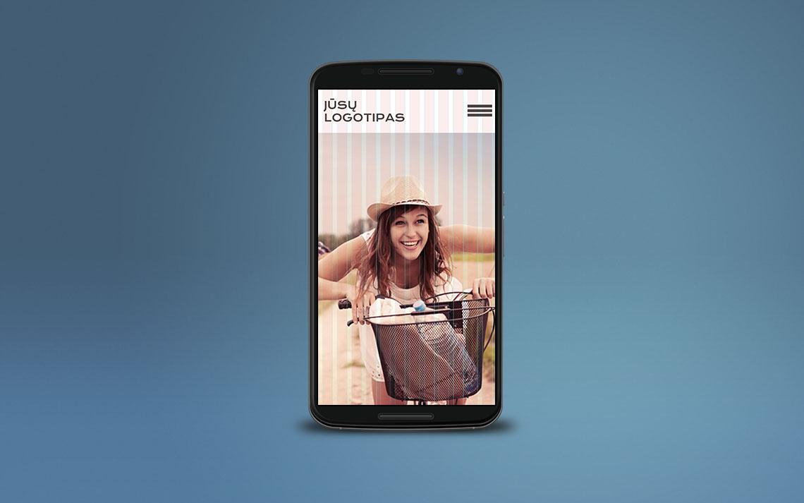 Prisitaikantis (responsive) dizainas telefone
